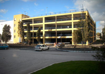 MULTI STORY PARKING BUILDING