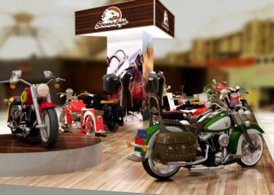 HARLEY DAVIDSON SHOWROOM
